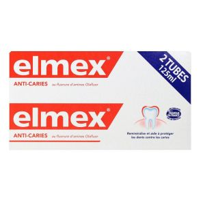 Elmex Dentifrice Anti-caries 2x125ml