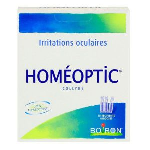 Homeoptic Collyre Unidoses 0,4ml x10