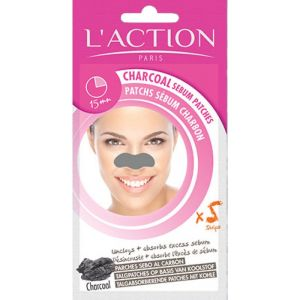 Action Paris Patchs Sebum Charbon 5x0.3g