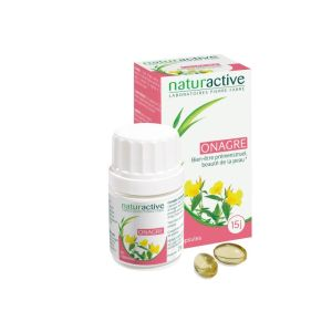 Onagre Huile Naturactive Capsules x30