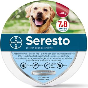 Collier Seresto Anti parasitaire Grand Chien