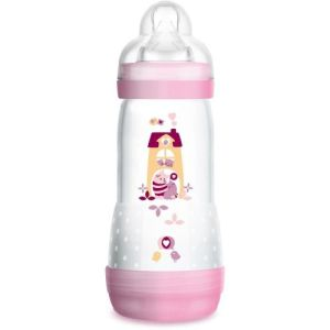 Biberon MAM Easy Start Anti colique 320ml Rose