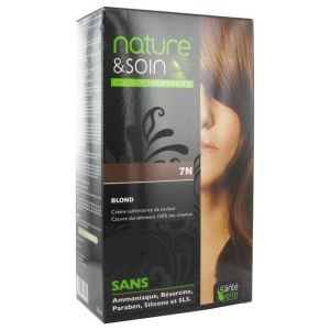 Nature&soin Coloration permanente teinte Blond 7N