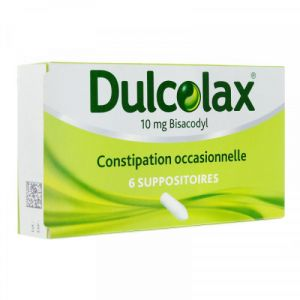 Dulcolax 10mg Suppositoires x6