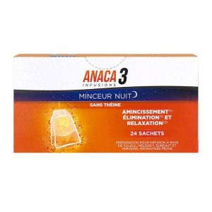 Anaca 3 Minceur Nuit Infusions x24
