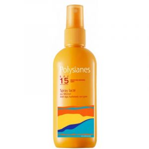 Polysianes Spray lacté au monoï anti-âge SPF 15 125ml