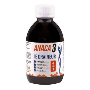 Anaca3 Draineur 4 en 1 Solution Buvable 250ml