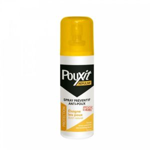 Pouxit Répulsif Lotion Anti-poux Spray 75ml