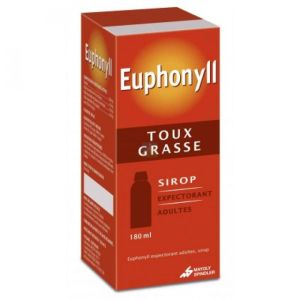 Euphonyll Expectorant Adulte Sirop 180ml