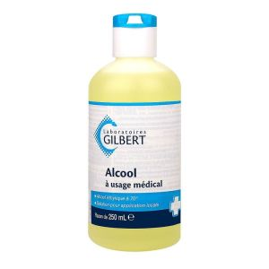 Alcool Usage Médical Gilbert 250ml