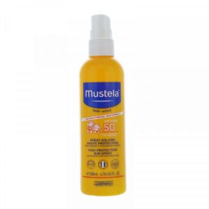 mustela solaire spray haute protection 50  200ml