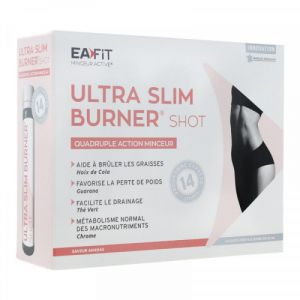 Eafit Ultra Slim Burner 14 Shots de 25ml