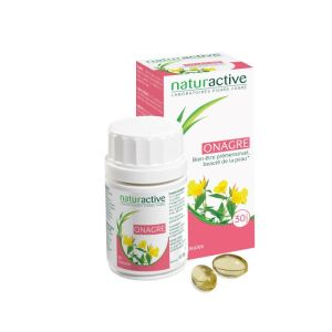 Onagre Huile Naturactive Capsules x60
