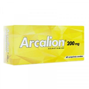 Arcalion 200mg Fatigue Passagère de l'adulte comprimés x60