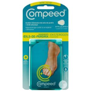 Compeed Pansement Œil Perdrix Plus x6