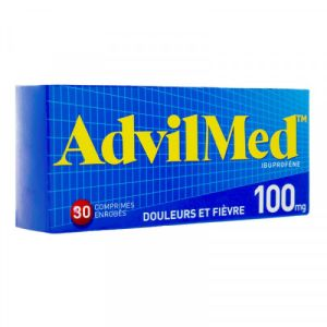 Advil 100mg Comprimés x30
