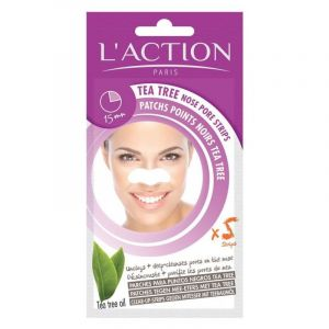 Action patchs Points noirs nez Tea Tree 5x0.3g