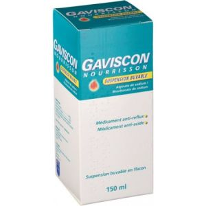 Gaviscon Suspension Buvable Nourrisson 150ml