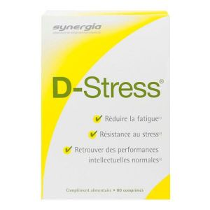 D-stress Comprimes Anti-fatigue x80