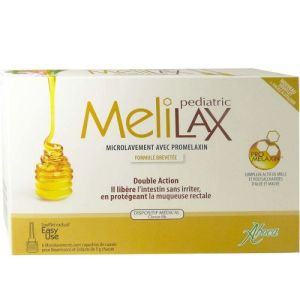 Melilax Pediatrique Micro constipation 5g x6 aboca