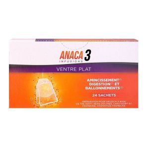 Anaca 3 Ventre Plat Infusions x24