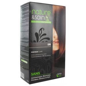 Nature&soin Coloration permanente teinte Chatain clair 5N