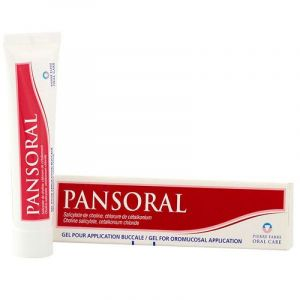 Pansoral Gel Buccal aphtes Tube 15g
