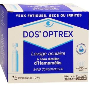 Dos Optrex Solution Unidoses 10ml x15