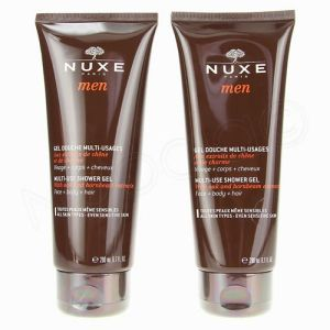 Nuxe Men Gel Douche 2x200ml