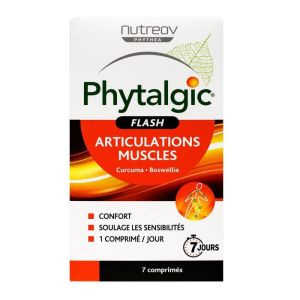 Phytalgic Flash Articulations et muscles x7 comprimés
