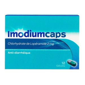 Imodium Caps 2mg 12 Gélules