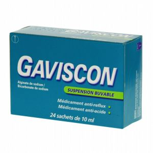 Gaviscon Suspension Buvable Sachet 10ml x24