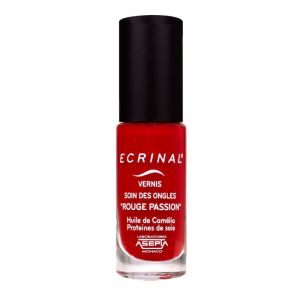 Ecrinal Vernis ongles traitant Rouge  6ml