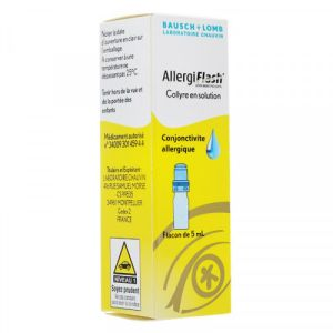 Allergiflash 0,05% Collyre Flacon 5ml