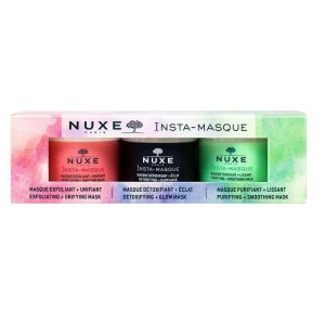 Nuxe Insta Masque Kit 3 Mini 3x15ml