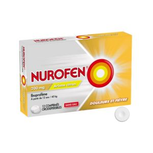 Nurofen Orodispersible Citron 200mg x12