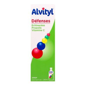 Alvityl Defenses Sirop Flacon 240ml