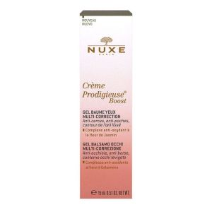 Nuxe Prodigieuse Boost Gel Baume Yeux multi correction15ml