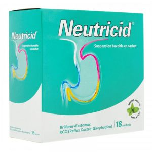 Neutricid Suspension Buvable Sachet x18