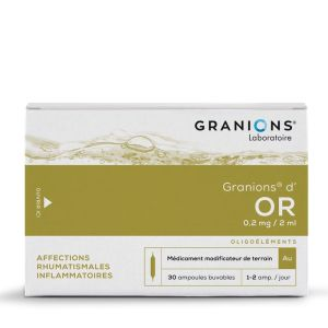 Granions Or Ampoules Buvables 2mlx30