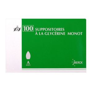 Glycérine Suppositoires Adulte Monot x100