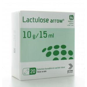 Lactulose 10g/15ml Arrow Sachet 15ml x20