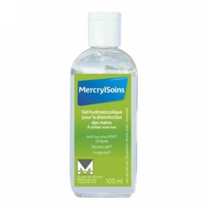 Mercrylsoins Gel hydroalcoolique Mains 100ml