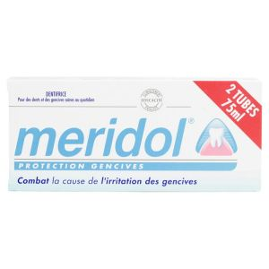 Meridol Dentifrice protection gencives 2x75ml