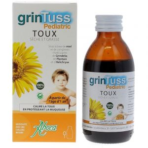 Grintuss Toux Sirop Pediatric 128g aboca