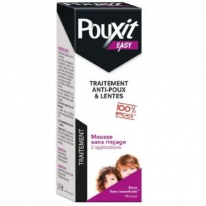 Pouxit Easy mousse anti poux 100ml