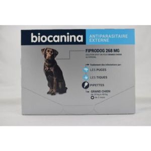 Fiprodog 268mg Spoton Grand chien 20-40Kg x3