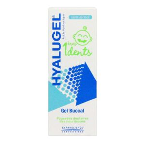 Hyalugel gel buccal 1 ères Dents bébé 20ml