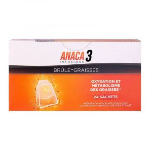Anaca 3 Brule Graisse Infusions x24 sachets