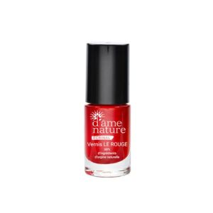 D'ame Nature Vernis à ongles Rouge 5ml